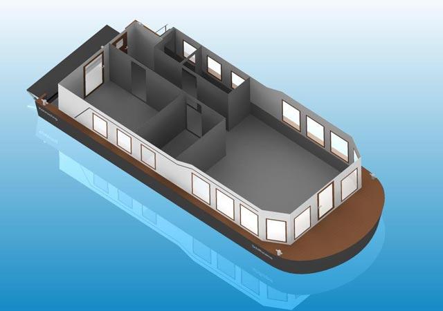 Schiffsaufbau Graphik
