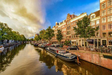 Die schönsten Hausboote Amsterdams