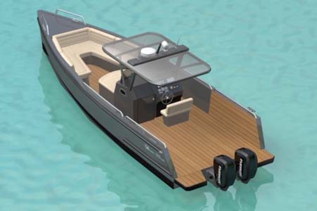 Aluminum Sportboot – neue Serie